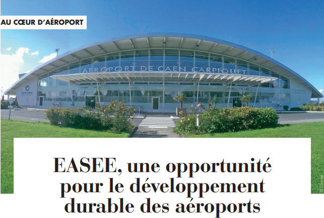 photo article aéroport de Caen